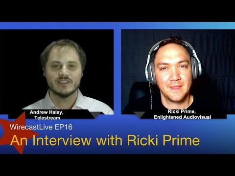 WirecastLive EP16 Ricki Prime of Hit It or Quit It on Broadc