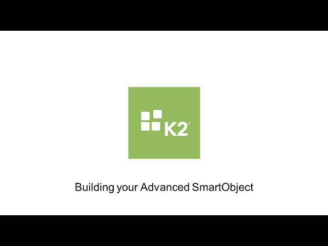 How-To: Building your Advanced SmartObject
