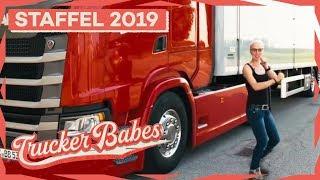 Manus erste Auslandstour! Schafft sie es rechtzeitig zur Abladestelle? | Trucker Babes | kabel eins