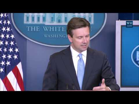 8/30/16: White House Press Briefing