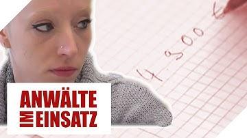 Nur 650 Euro zum Leben! Wie soll Witwe 5.000 Euro Schulden zahlen | 1/2 | Anwälte im Einsatz | SAT.1