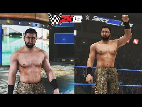 WWE 2K19 : Shawn Daivari Entrance, Finisher, Signature & Victory Motion