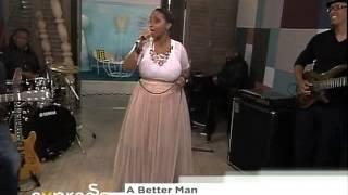 "Auriol Hays performs ""A better man ""  (12.11.2012)"
