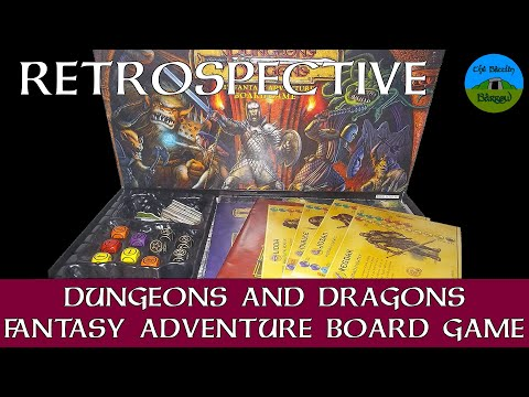 Dungeons & Dragons: The Fantasy Adventure Board Game | Board Game