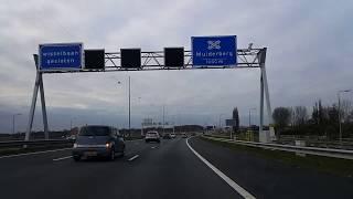 Dashcam Beelden A1: Knooppunt Eemnes ----»Knooppunt Muiderberg.