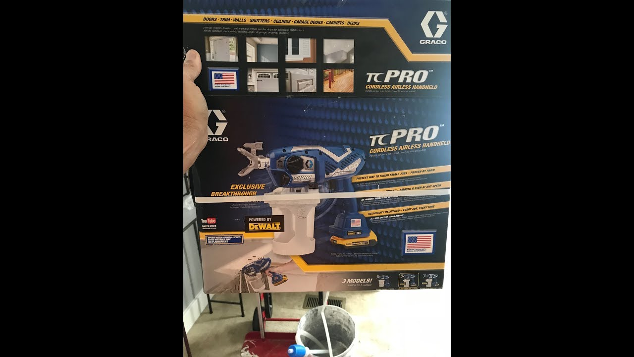 Graco TC Pro Airless-Cordless Paint Gun