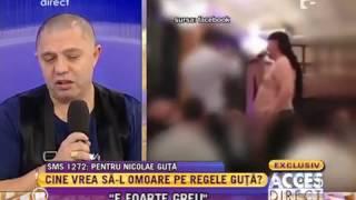 """Nicolae Guta a avut parte de umilinţa supremă! A fost """"forţat"""" să cânte dezbrăcat!"""