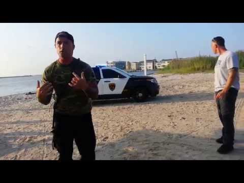 Long Beach Twp PD National Night Out 2014 K-9 Demo