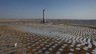 Dünyanın en uzun güneş enerjisi kulesinin inşasına başlandı