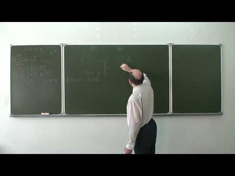 Комплексный анализ. Лекция 11a. Ряд Лорана (окончание). Особые точки