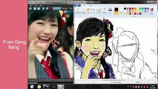 Gambar cover วาด AKB48  เละๆสไตล์ paint  ep4