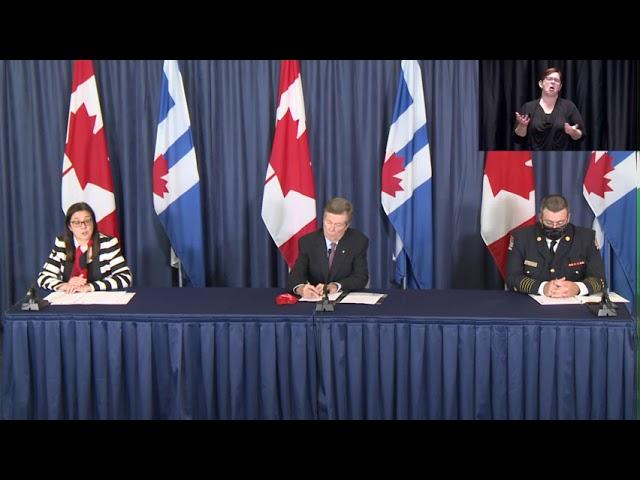 City of Toronto COVID-19 Briefing | September 16