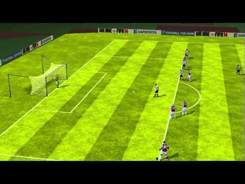 Ferrari Anglo italian Cup 2013-14 Udinese 1 West Ham 3 last 16 O'brein goes