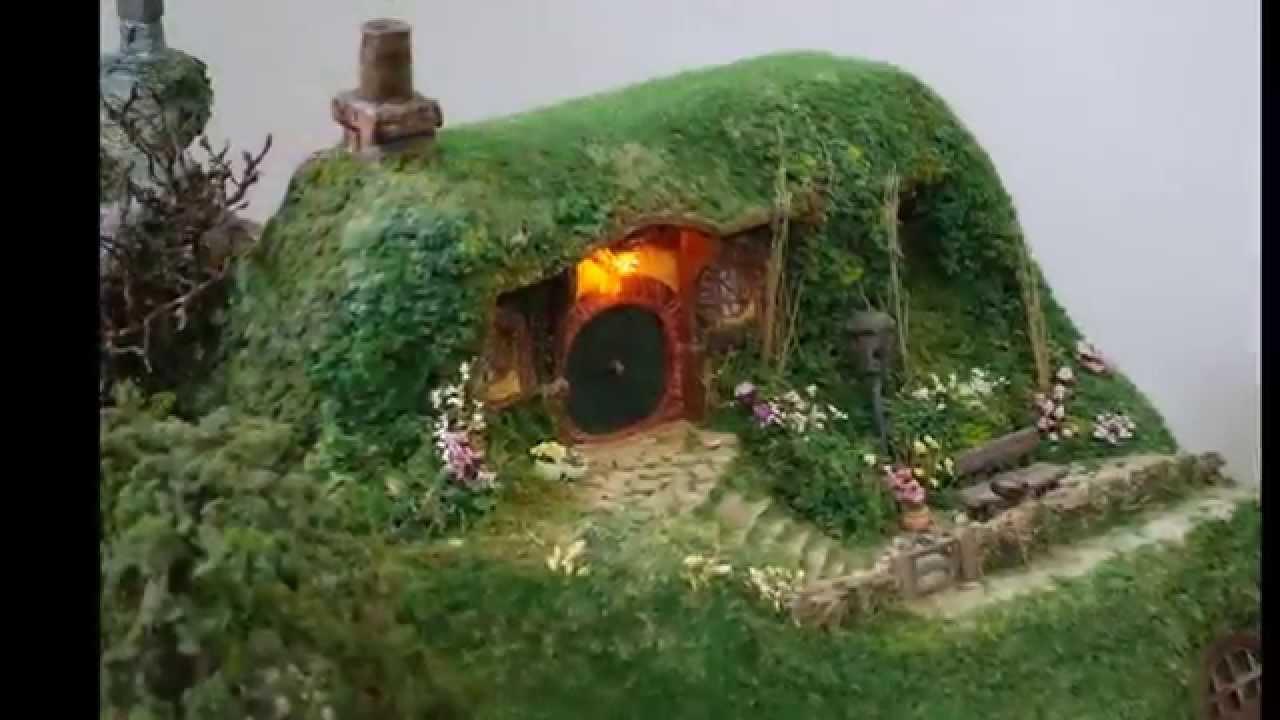 Miniature The Hobbit Diorama Part 7 An Unexpected