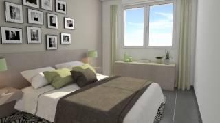 Résidence Le Prairial - Toulouse Croix Daurade - Film d'un appartement T3