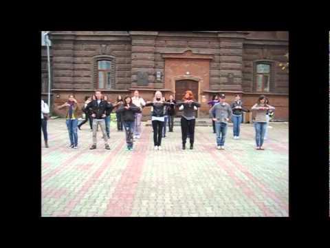 Флешмоб AIESEC Krasnoyarsk