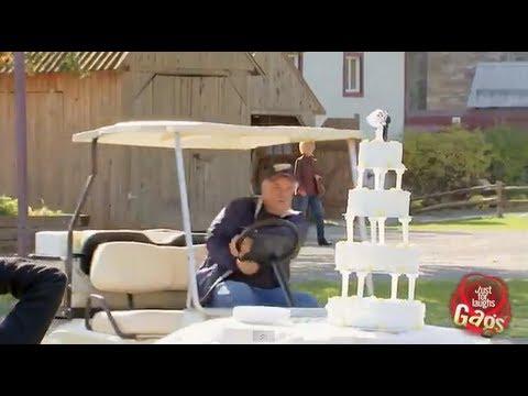Runaway Golf Cart Ruins Wedding