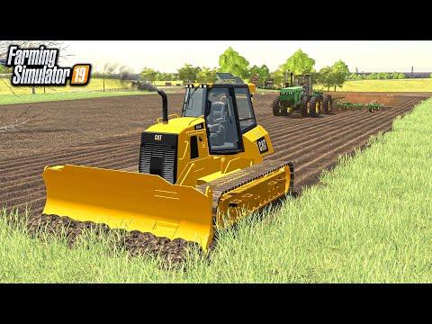TRANSFORMING PASTURE LAND INTO TILLABLE FARMLAND! (KNOCKING DOWN TREES) | FARMING SIMULATOR 2019