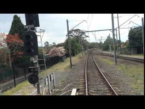 Waterfall to North Sydney - REALTIME