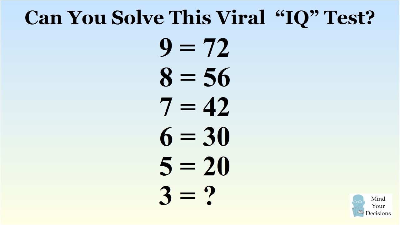 Can You Solve The Viral 9 72 Puzzle Correct Answer Explained