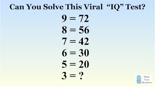 Can You Solve The Viral 9 = 72 Puzzle? The Correct Answer Explained