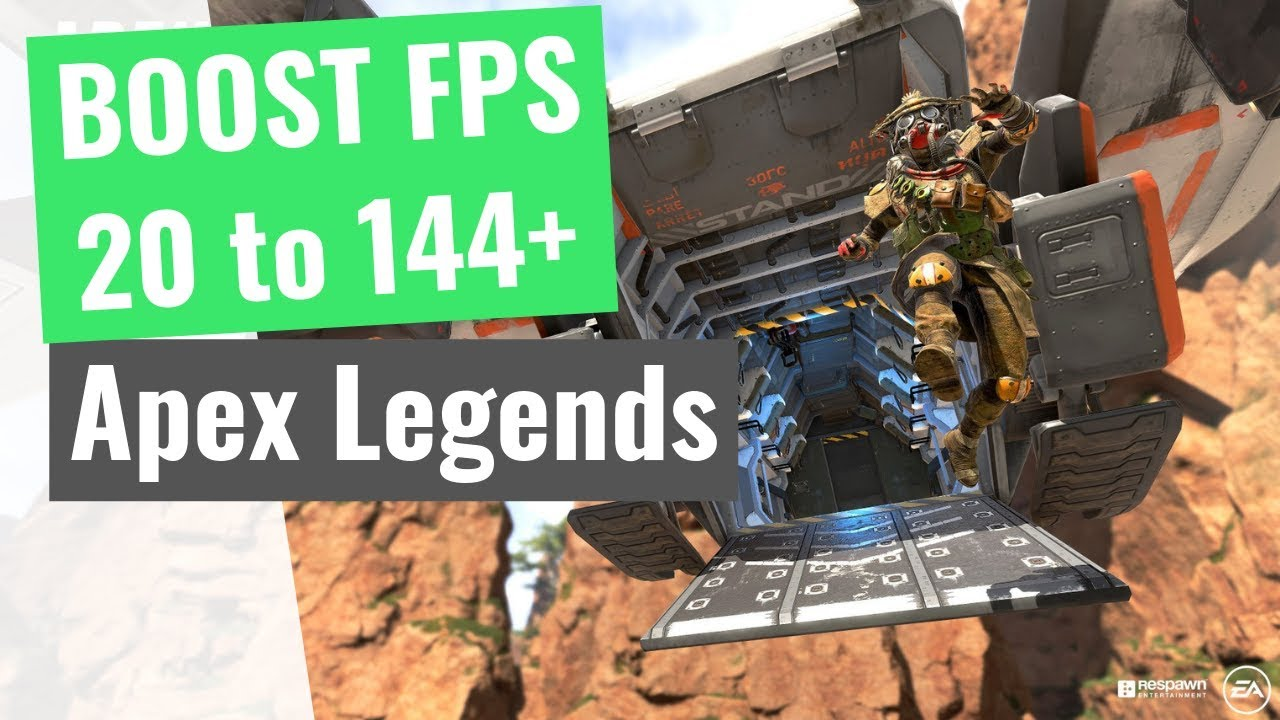 Apex Legends : How to Increase your performance / BOOST your FPS on any PC!