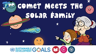 Solar System for Kids | Short Story | Comet Meets the Solar Family | BubbleBud Kids | Story #1