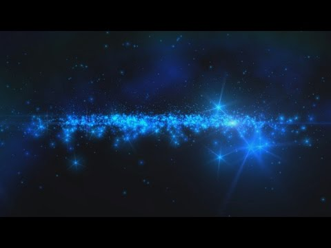 4K Blue Starfield in Space Sparkle HD Background 1080p 2160p