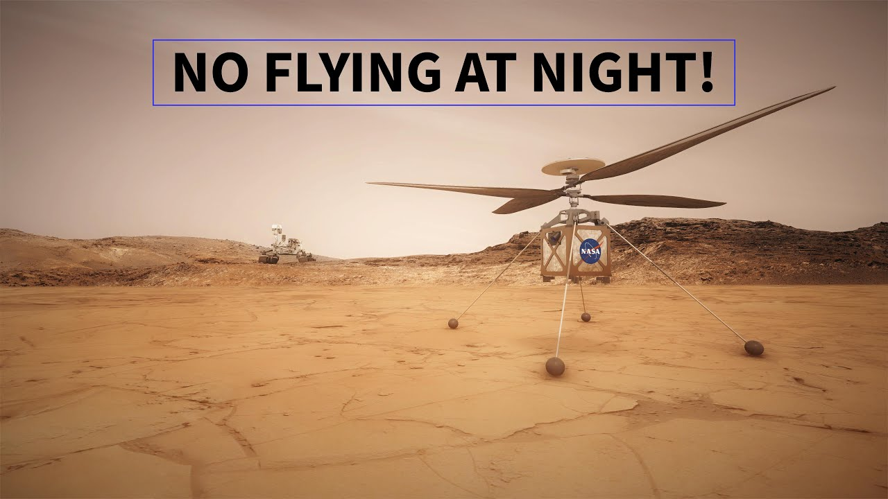Why The Mars Helicopter Won't Fly at Night