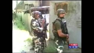Terrorist Encounter in Pulwama District
