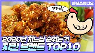 2020년 대한민국 치킨 브랜드 순위 Top10_[센서…