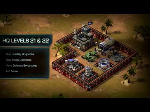 Empires & Allies  Update New HQ Levels and Troops