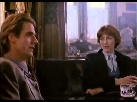 Jeremy Irons and Patricia Hodges Speak of Betrayal