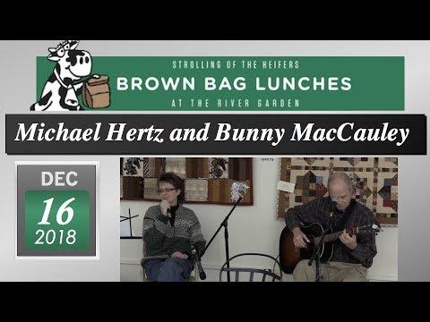 Michael Hertz And Bunny Maccauley 12 16 18 Brattleboro