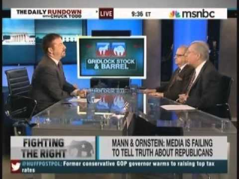 Chuck Todd s Ornstein and Mann Party & Facts