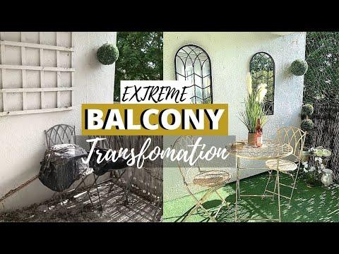 EXTREME BALCONY TRANSFORMATION