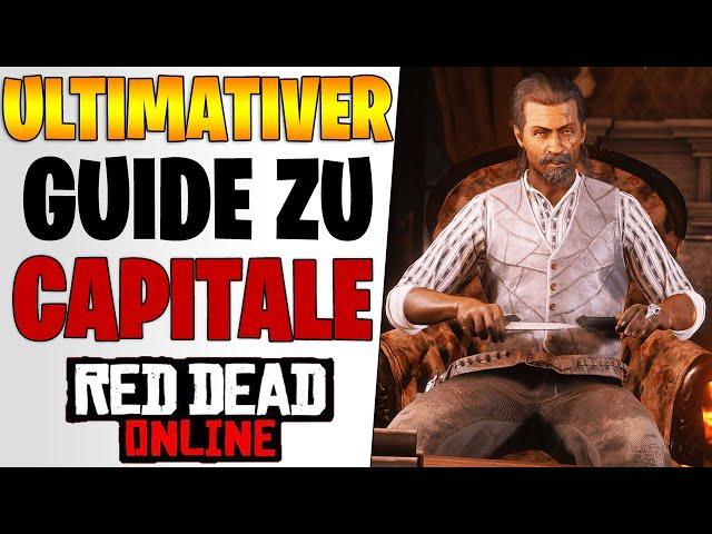 CAPITALE ERKLÄRT - Lohnen sich Verbrechen & Gelegenheiten | Red Dead Redemption 2 Online deutsch