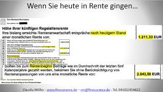 Die schonungslose Wahrheit über Ihre Renteninformation - Hamburg, Stormarn, Herzogtum Lauenburg