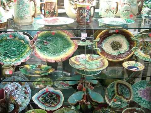 HallTree Antique Mall Antiguidades Salinas California USA Jack D Deal Videos