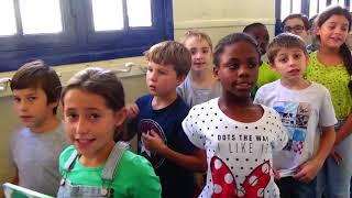 La Croisade des enfants  jour de la paix Bolivar A 2018