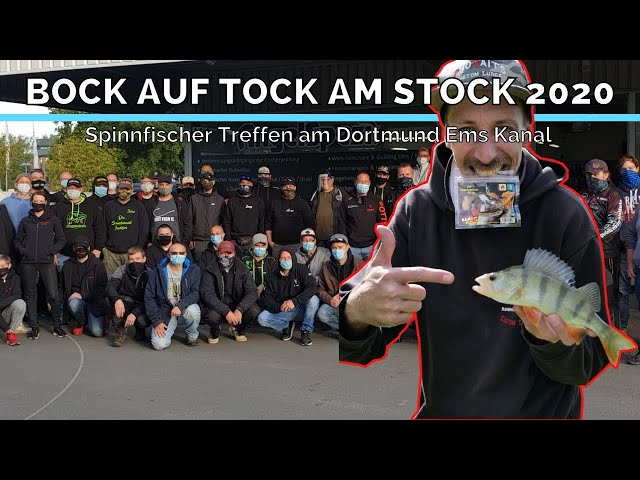 Angler Event: Bock auf Tock am Stock 2020 | Spinnfischer Treffen am Dortmund Ems Kanal