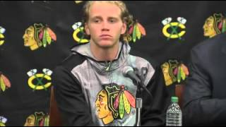 2015 09 17 Chicago Blackhawks Training Camp Press Conference P1