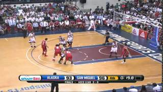 Last 1 Minute and OT of PBA Philippine Cup 2016 Finals Game 4
