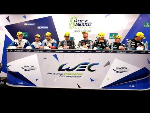 WEC - 2017 6 Hours of Mexico - Post-Race Press Conference Class Winners