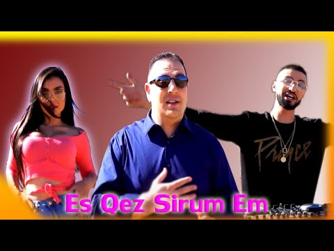 Manvel Voskerchyan ft. Dj Hakop - Es Qez Sirum Em (2019)