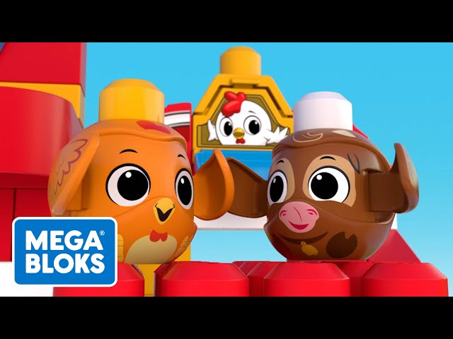 Mega Bloks™ - Tavuk ve İnek Yarışırsa Ne Olur? | çocuk çizgi filmleri | Fisher-Price