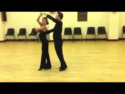 Social Slow Waltz Beginners Routine - Inspiration 2 Dance