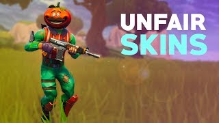 Unfair Skins in Fortnite! (Hitbox Glitch)
