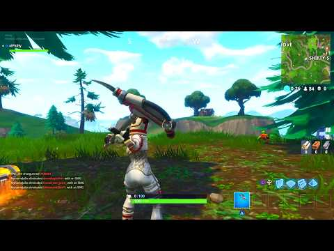 *NEW* PULSE AXE FORTNITE PICKAXE SOUND EFFECTS AND GAMEPLAY! @LYCANPHILLY