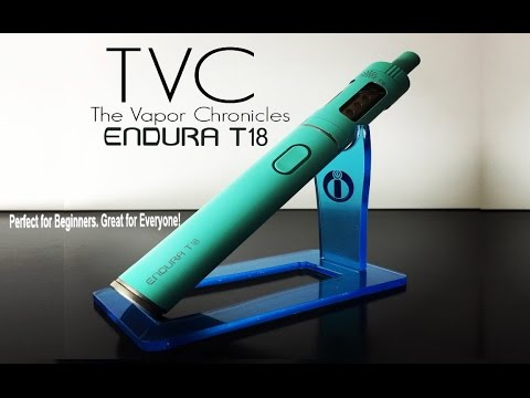 ENDURA T18 Complete Vaping System By Innokin Review On TVC